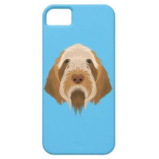 Blue Spinone Italiano iPhone SE/5/5s Case