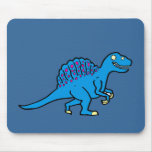 Blue Spinosaurus Mouse Pad
