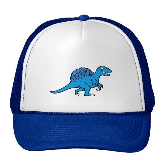 Blue Spinosaurus Trucker Hat