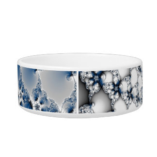 Blue Spiral Bowl