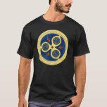 Blue spiral disks Celtic t-shirts & hoodies.