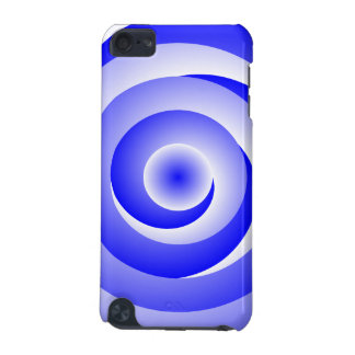 Blue Spiral Illusion iPod Touch 5G Case