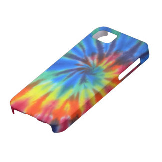 Blue Spiral Tie-Dye Case-Mate iPhone 5 iPhone 5 Cover