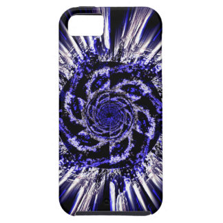 Blue spirals iPhone 5/5S tough case