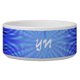 Blue Spirit Circle monogram Bowl