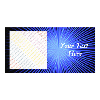 Blue Spirit Circles Card