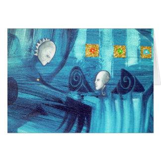 blue spirit dance card
