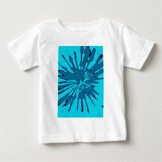 Blue Splash Abstract Design Baby T-Shirt