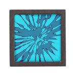 Blue Splash Abstract Design Premium Gift Boxes