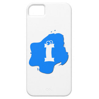 Blue Splash iPhone 5 Covers