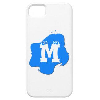 Blue Splash iPhone 5 Cover