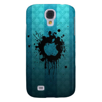 Blue Splash Samsung Galaxy S4 Cover