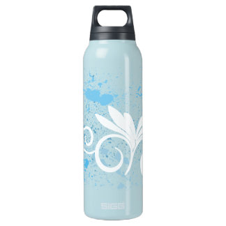 Blue Splash Water Liberty Bottle