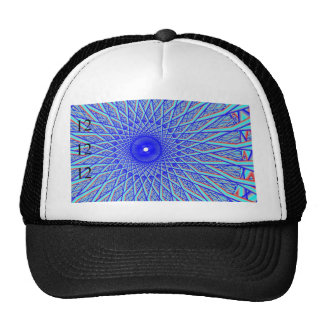 Blue Spoke Eye 12-12-12 Hat