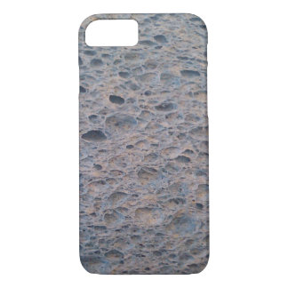 Blue sponge phone cover. iPhone 8/7 case