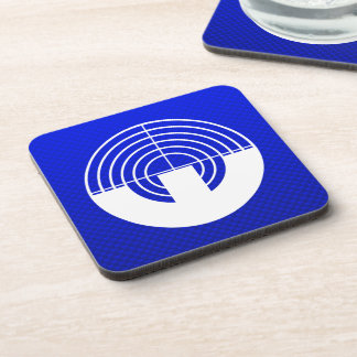 Blue Sport Shooting Drink Coaster