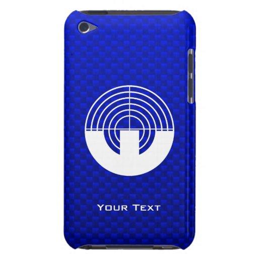 Blue Sport Shooting iPod Case-Mate Case