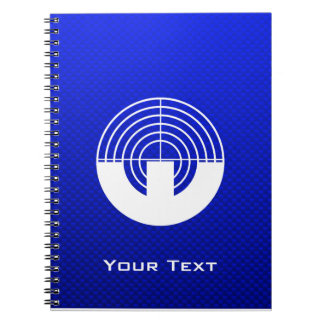 Blue Sport Shooting Note Book