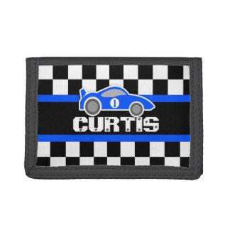 Blue sports car name / age wallet