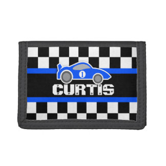 Blue sports car name / age wallet