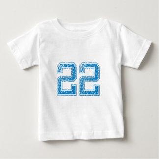 Blue Sports Jerzee Number 22 Tee Shirt