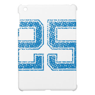 Blue Sports Jerzee Number 25 iPad Mini Cases