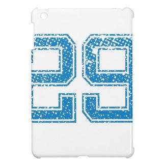 Blue Sports Jerzee Number 29 iPad Mini Cases