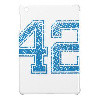 Blue Sports Jerzee Number 42 iPad Mini Covers