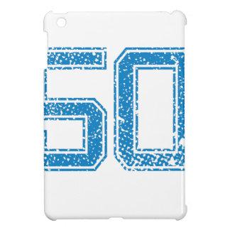 Blue Sports Jerzee Number 50 iPad Mini Cases