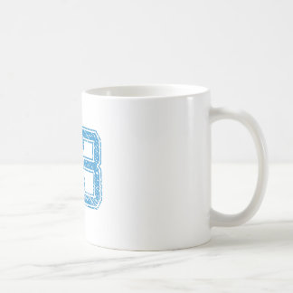 Blue Sports Jerzee Number 53 Coffee Mug