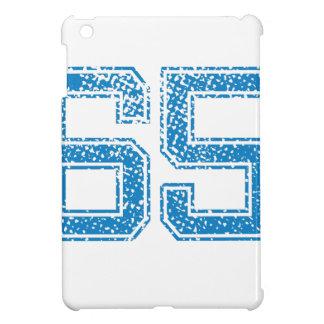 Blue Sports Jerzee Number 65 iPad Mini Cover