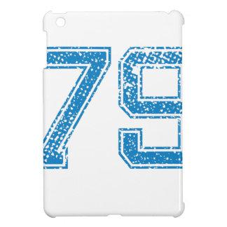 Blue Sports Jerzee Number 79 iPad Mini Cover