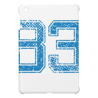 Blue Sports Jerzee Number 83.png Case For The iPad Mini