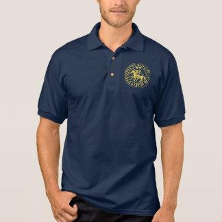 Blue sports shirt navy seal gilded Templar
