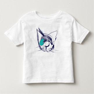 Blue Spot Cat T-Shirt