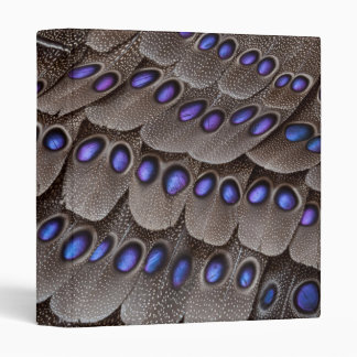 Blue Spotted Pheasant Feather Binder
