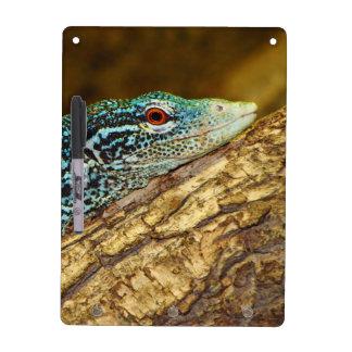 Blue-Spotted Tree Monitor Varanus Macraei Dry-Erase Board