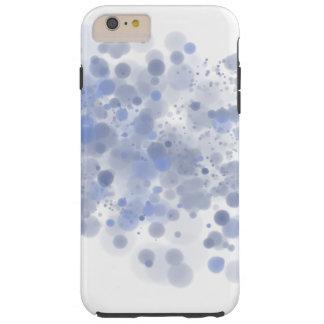 Blue Spray Tough iPhone 6 Plus Case