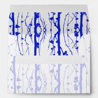 Blue Spring Blossoms Envelope