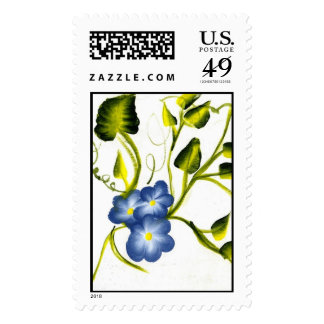 BLUE SPRING BLOSSOMS STAMPS