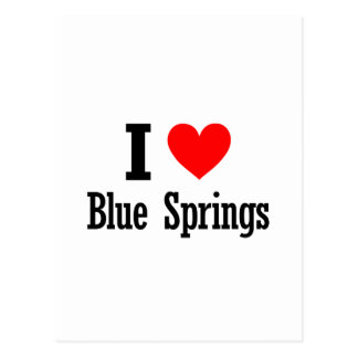 Blue Springs, Alabama City Design Postcard