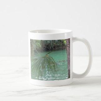 Blue Springs Florida Palm Coffee Mug