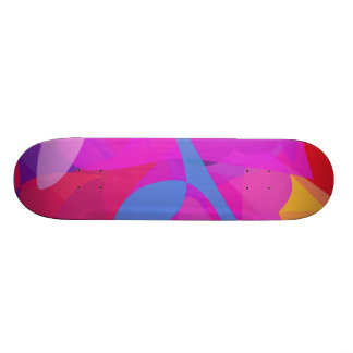 Blue Sprouts Skate Board