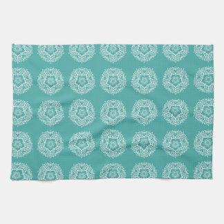 Blue Spruce Mandala Towel