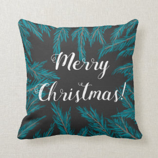 Blue Spruce Throw Pillow
