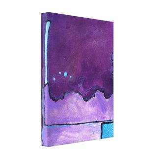 Blue Square 2 Canvas Print