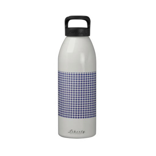 Blue Square Water Bottle