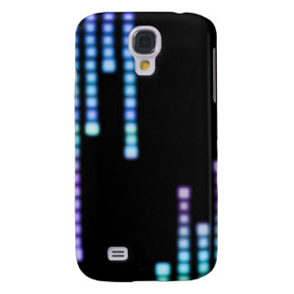 Blue Squares iPhone 3G Case Galaxy S4 Case