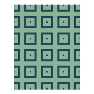 Blue Squares Scrapbook Paper
