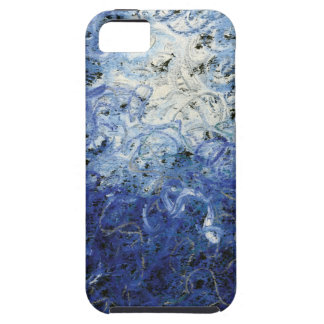 Blue Squiggle iPhone 5 Case